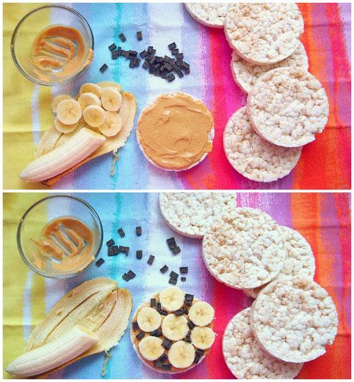 Закуски с рисовыми хлебцами