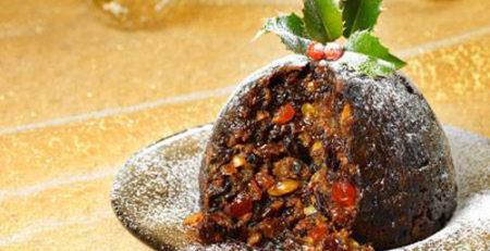 Рождественский рисовый пудинг для детей