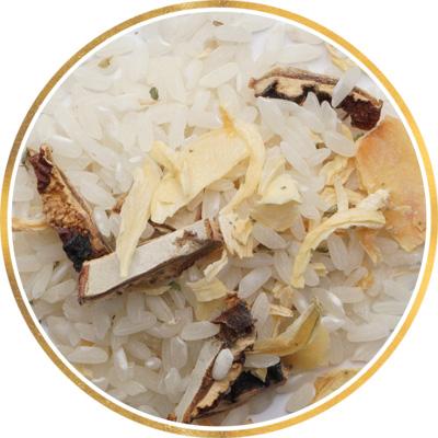 Ризотто с белыми грибами